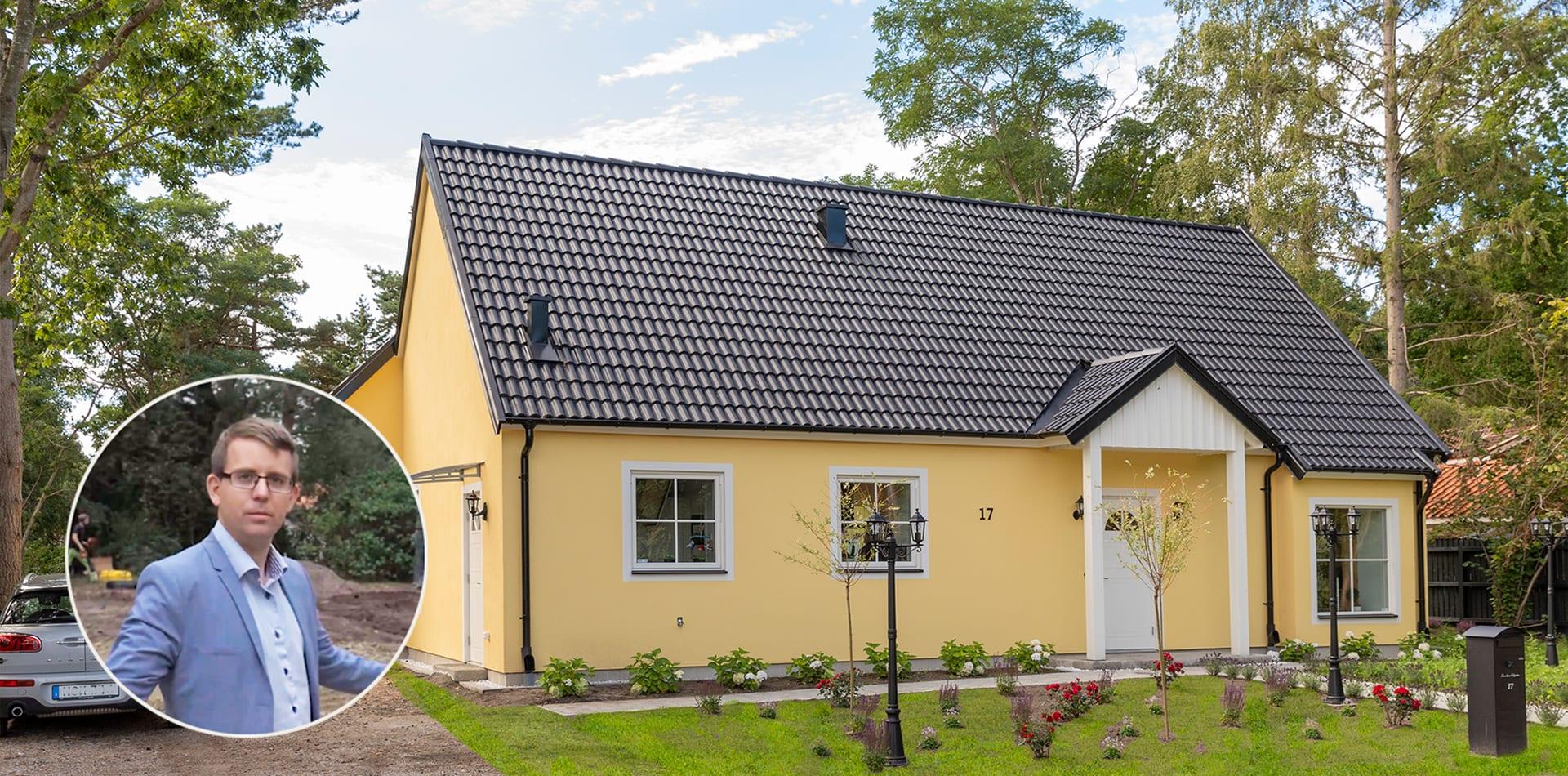 Villa Edpalm AChoice stenhus
