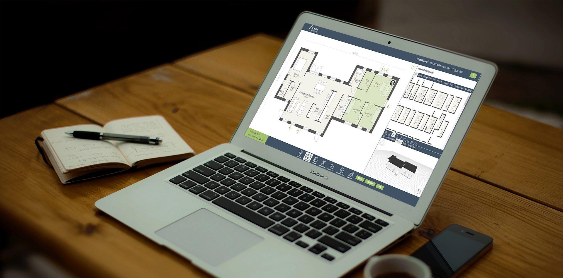 AChoice Planlösaren bygg hus online