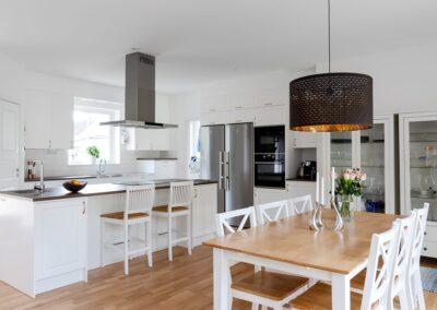 Matplats hemma hos Åsa och Viktor